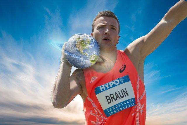 Pieter Braun en de Olympische Spelen