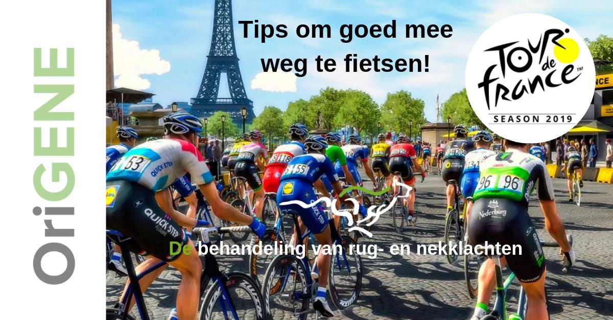 Tips om mee weg te fietsen
