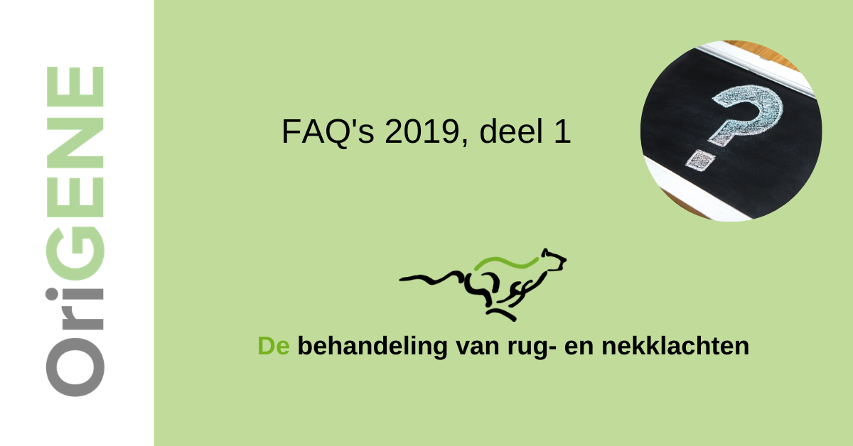 FAQ's 2019, deel 1